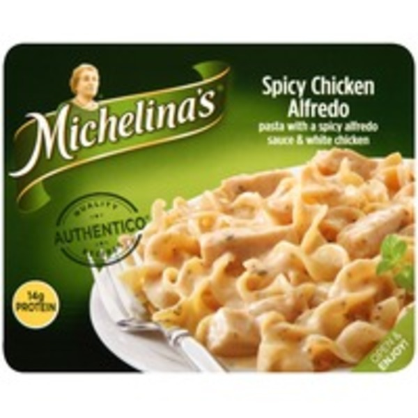 Michelina's Traditional Recipes Spicy Chicken Alfredo