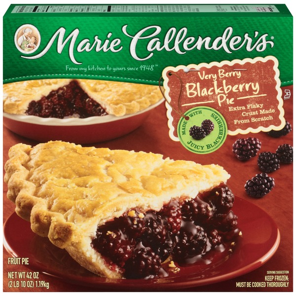 Marie Callender's Very Berry Blackberry Pie