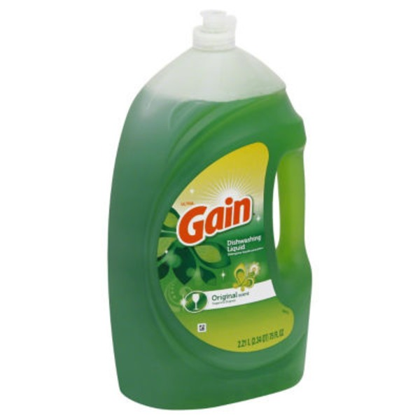 Gain Ultra Original Dishwashing Liquid
