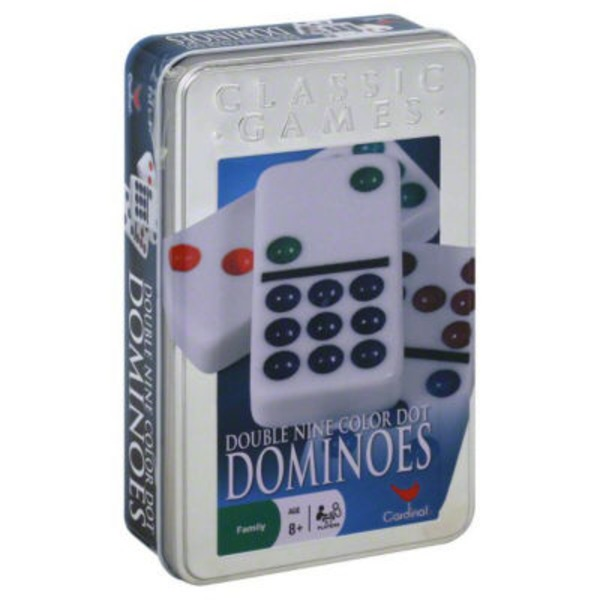 Cardinal Dominoes, Double Nine Color Dot