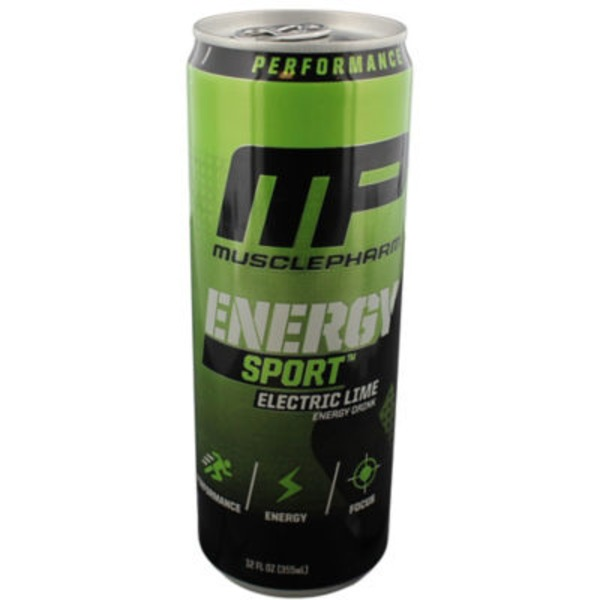 MusclePharm Electric Lime Sport Energy Drink