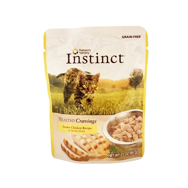 Nature's Variety Instinct Healthy Cravings Tender Chicken Recipe Cat Food