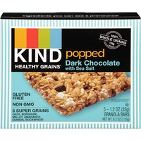 Kind Healthy Grains Popped Dark Chocolate with Sea Salt Granola Bars