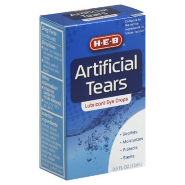 H-E-B Artificial Tears Drops