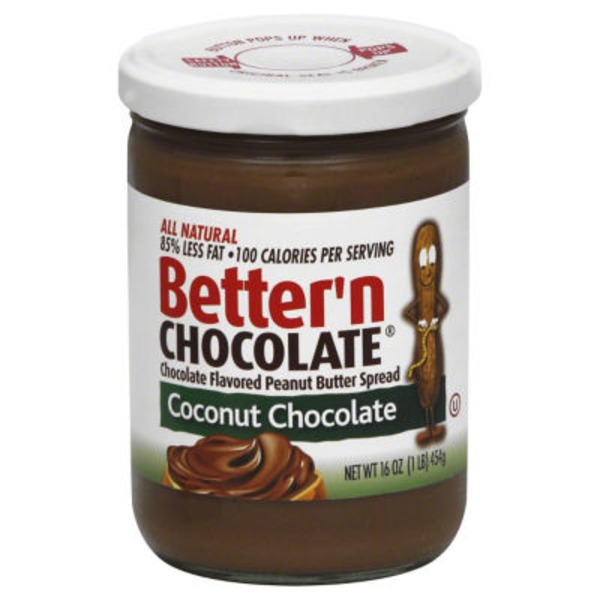 Better 'n Chocolate Coconut Chocolate Peanut Butter Spread
