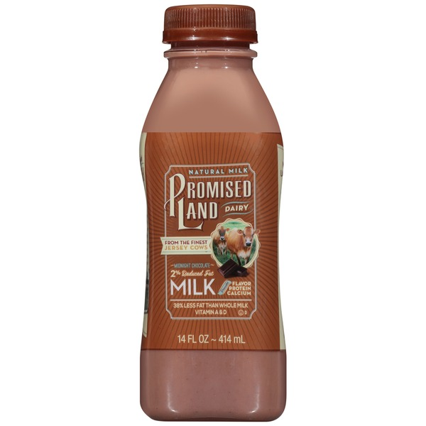 Promised Land Dairy Midnight Chocolate 2% Reduced Fat Milk