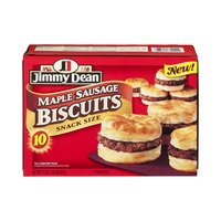 Jimmy Dean Maple Sausage Snack Size Biscuit Sandwiches