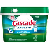 Cascade Complete ActionPacs Dishwasher Detergent Fresh Scent 46 Ct Dish Care