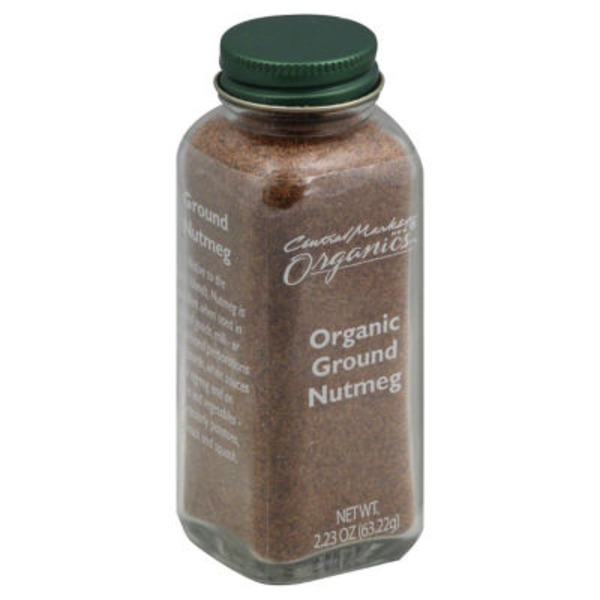 Central Market Organic Ground Nutmeg
