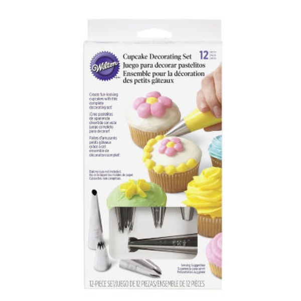 Wilton 12 Piece Cupcake Decorating Set