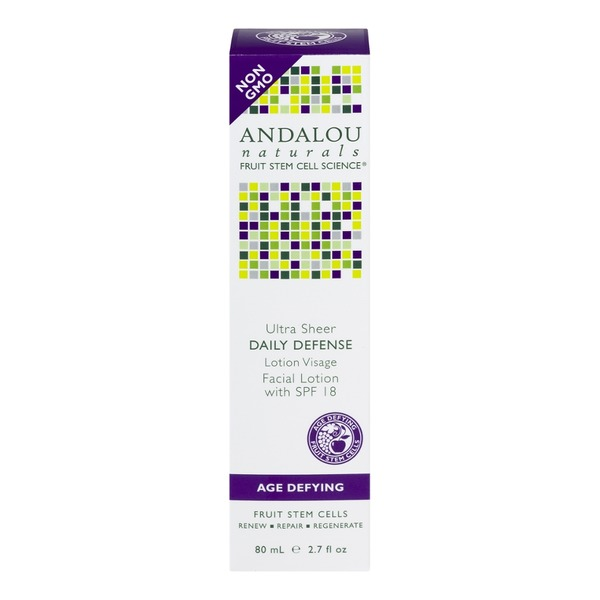Andalou Naturals Daily Defense Lotion SPF 18 Age Defying