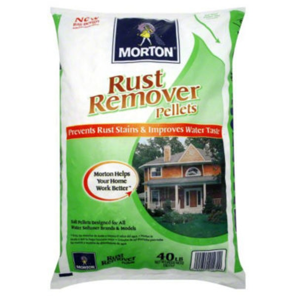 Morton Rust Remover Water Softening Pellets
