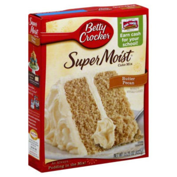Betty Crocker Delights Super Moist Butter Pecan Cake Mix