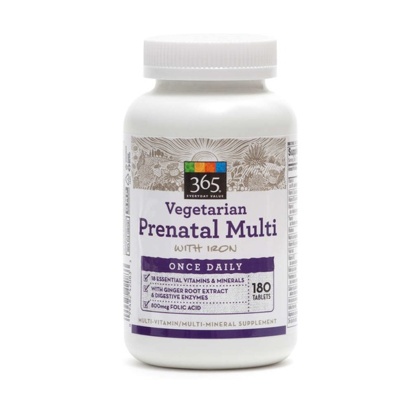 365 Vegetarian Prenatal One Daily Multivitamin