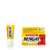 Vanishing Scent Bengay Non-Greasy Pain Relief Gel, 2 oz