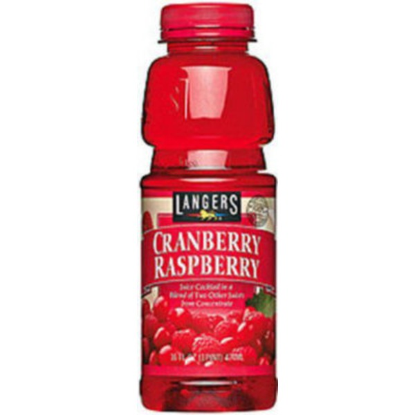 Langers Cranberry Raspberry Cocktail
