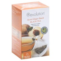 Revolution Brewery Black Tea Sweet Ginger Peach - 16 CT