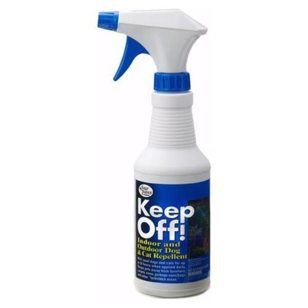 Four Paws Keep Off! Indoor And Outdoor Dog And Cat Repellent