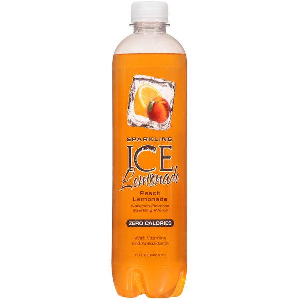 Sparkling ICE Peach Lemonade Sparkling Water