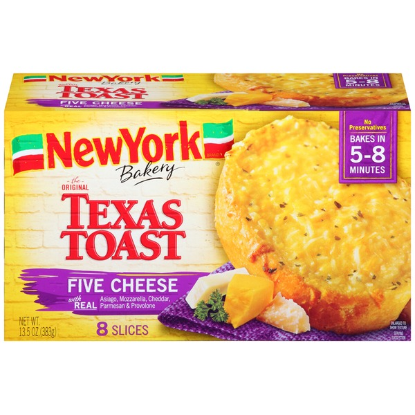 New York Style The Original Five Cheese Texas Toast