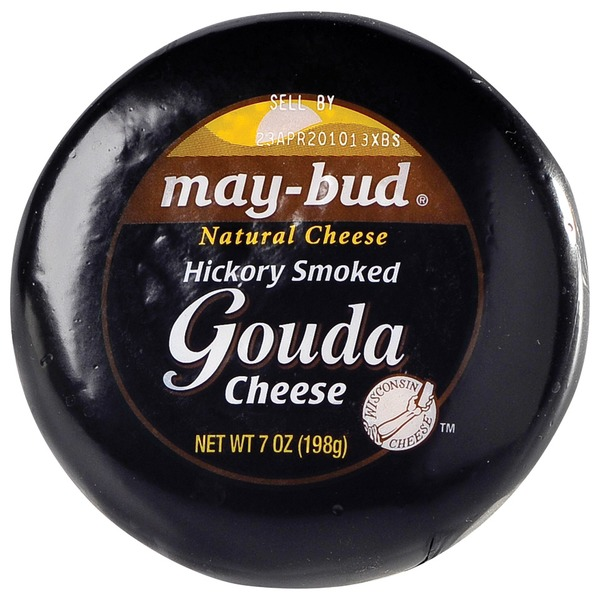 May Bud Hickory Smoked Gouda Cheese
