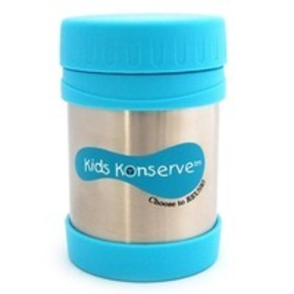 Kids Konserve Stainless Steel Insulated Jar Sky