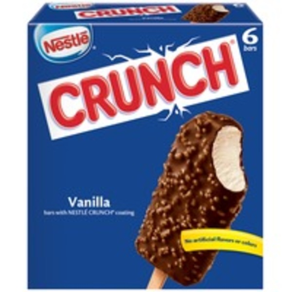 Nestle Crunch Frozen Dairy Dessert Bar