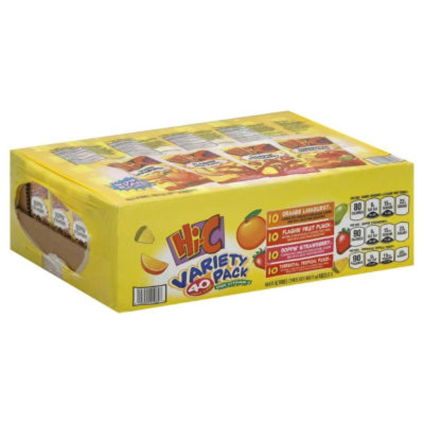 Hi-C Variety Pack Fruit Drink