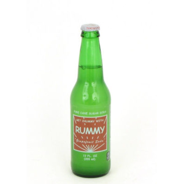 Rummy Pure Cane Sugar Grapefruit Soda