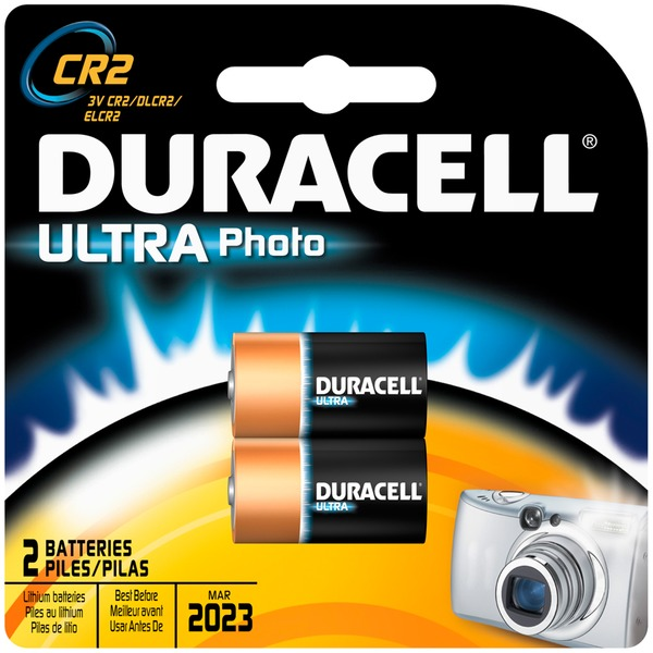 Duracell Ultra Duracell Ultra Lithium CR2 2 count Specialty Batteries