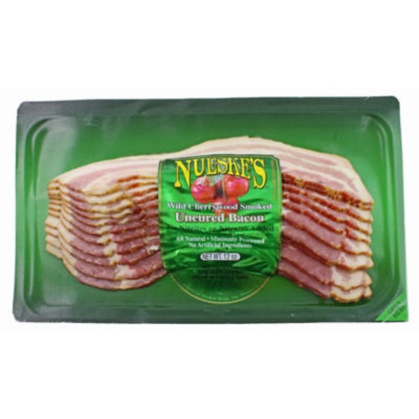 Nueske's Wild Cherrywood Smoked Uncured Bacon