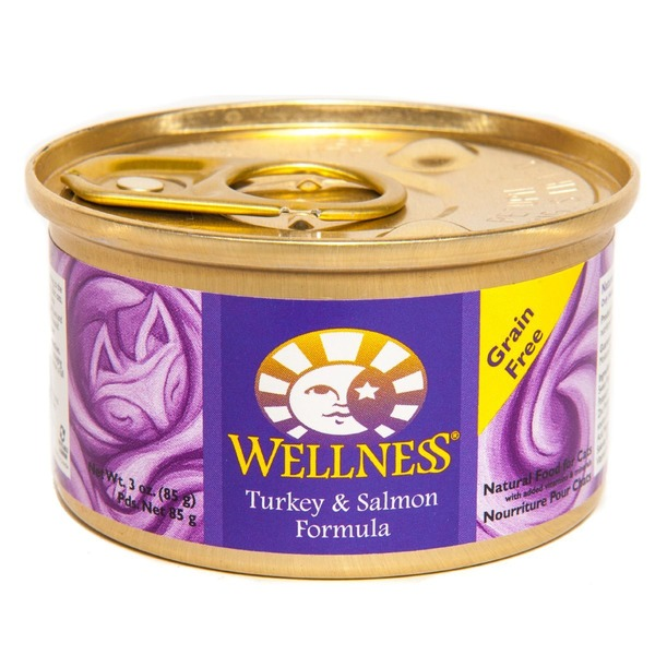 Wellness Grain Free Turkey & Salmon Formula Cat Food