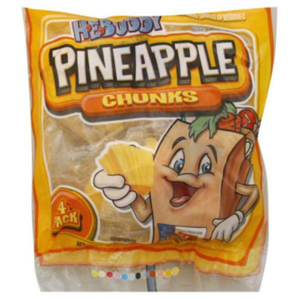 H-E-Buddy Pineapple Chunks