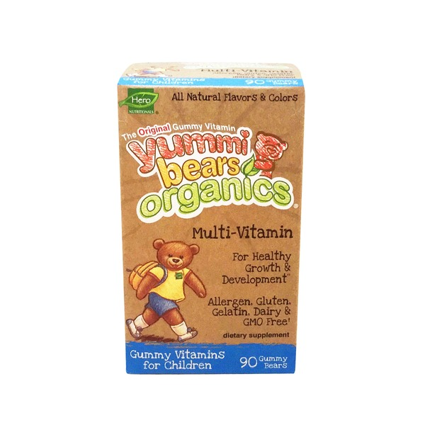 Hero Nutritionals Yummy Bears Organics Multi Vitamin