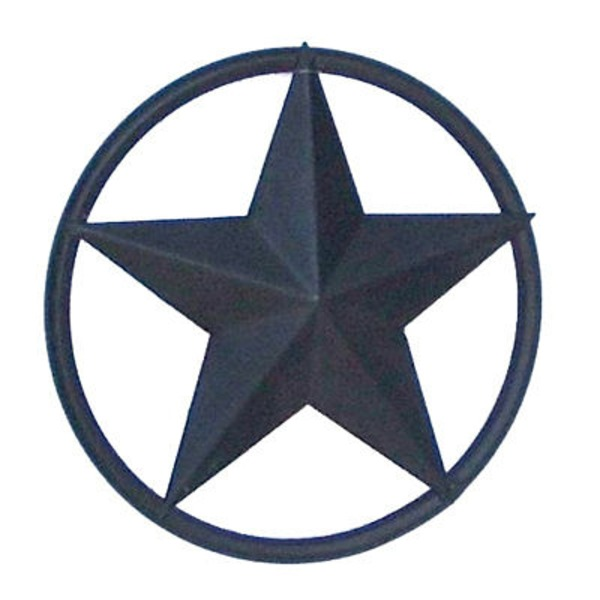 Interpro 5 Inch Star With Rustic Ring