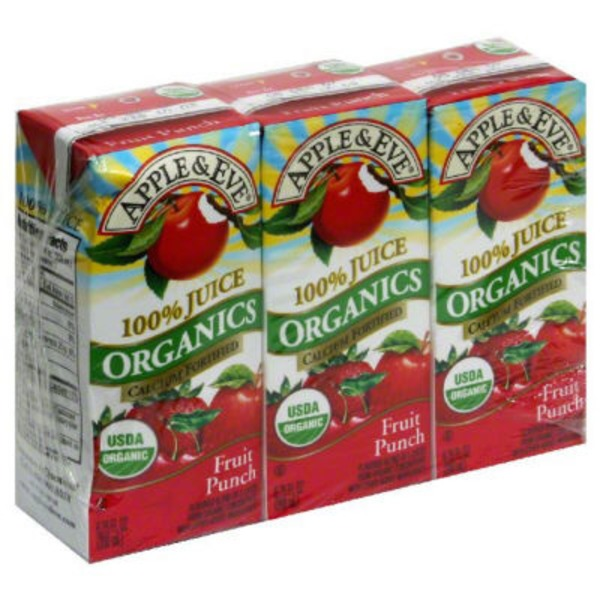 Apple & Eve Organics Fruit Punch 100% Juice