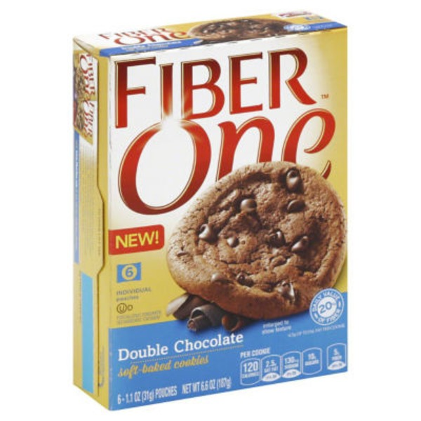 Fiber One Double Chocolate Soft-Baked Cookies