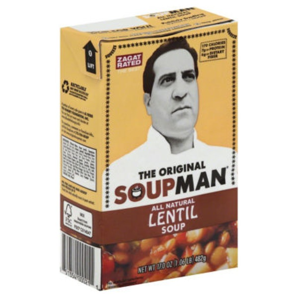 The Original Soupman Lentil Soup