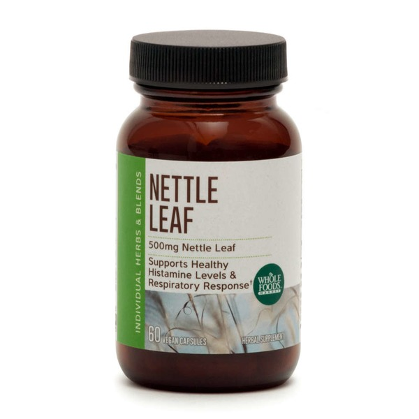Whole Foods Market Nettle Leaf Capsules 500 mg