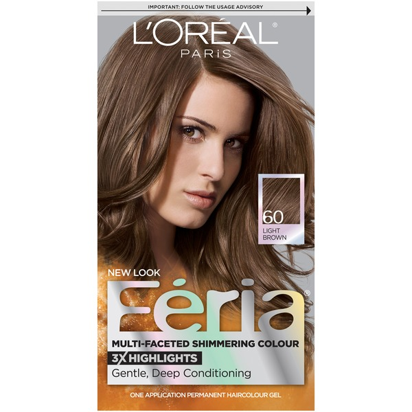 Feria Multi-Faceted Shimmering Colour 60 Light Brown Hair Color