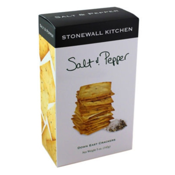 Stonewall Kitchen Salt And Pepper Crackers