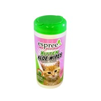 Espree Kitten Sensitive Formula Aloe Wipes