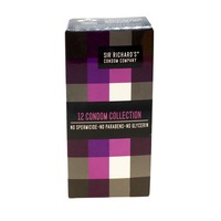 Sir Richards Condoms, 12 Pack Collection