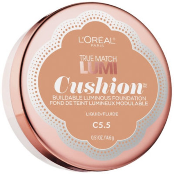 True Match Lumi Cushion C5.5 Natural Tan Foundation