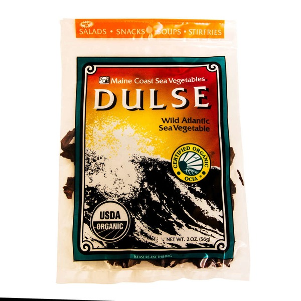 Maine Coast Dulse Wild Atlantic Sea Vegetable