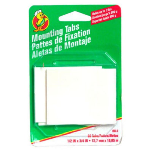 Duck Double Sided Mounting Tabs