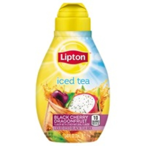 Lipton Black Cherry Dragonfruit Liquid Iced Tea Mix