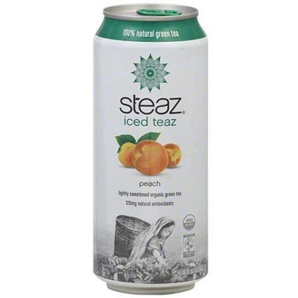 Steaz Green Tea Peach Tea