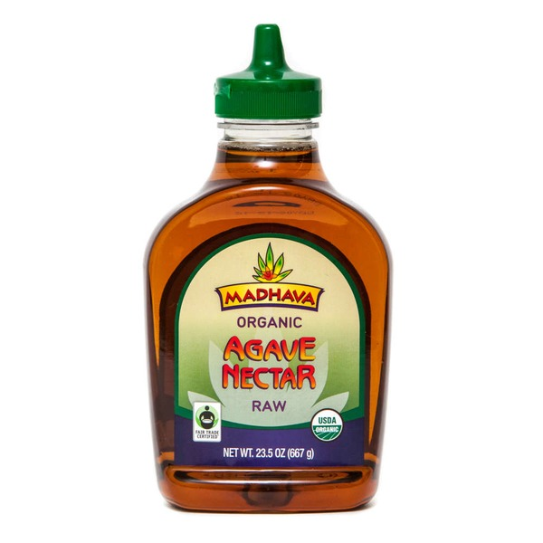 Madhava Organic Fair Trade Raw Blue Agave Sweetener