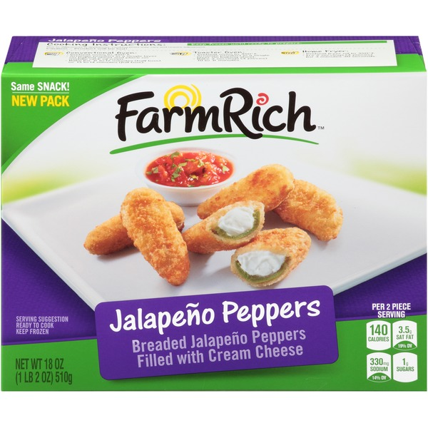 Farm Rich Breaded Jalapeno Peppers
